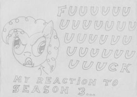 MFOEF - My Reaction To MLP Season 3 by Imaflashdemon