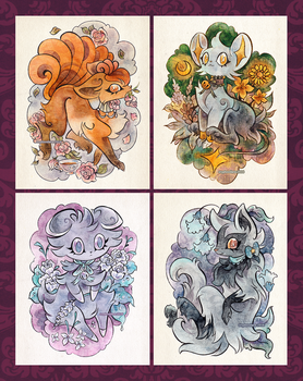 Floral Fashion Pokemon by cryptosilver