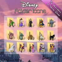 Disney Folder Icons -The Hunchback Of Notre Dame by EditQeens