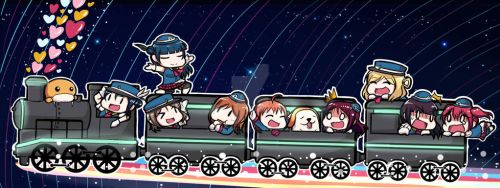 Happy Party Train by LoveJuiceP