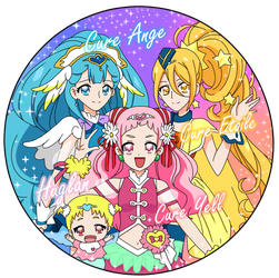 Hugtto! Precure by Benit149