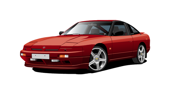 Nissan 200sx s13 -89, my 2 car by paatoo