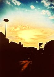 streets in the evening - Lomo by LightOfThe80ies