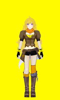 Yang Yellow by calibur222