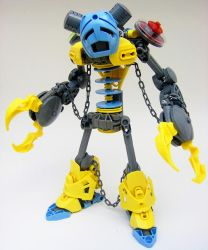 Bionicle MOC: The Shackled Jester by LordObliviontheGreat