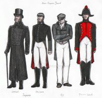Inspector Javert: costumes by Nyranor