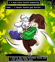 Undertale: I never hated you Azzy ... by Neloku