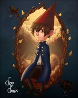 And over the garden wall to thee by Shaman-kiD