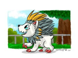 Strolling in the park one day.  by Specwulf