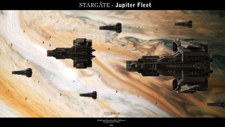 Stargate - Jupiter Fleet by Mallacore