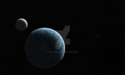 Exoplanet T-II by No-one-o1