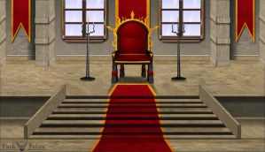 The King's Throne by 1Darkfalcon
