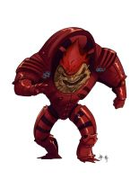 Wrex by dominicali
