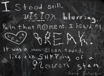 Heartbreak-Quote Art 1 by MaddyLion7