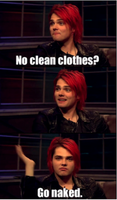No Clean Clothes? by JustAlittleScene