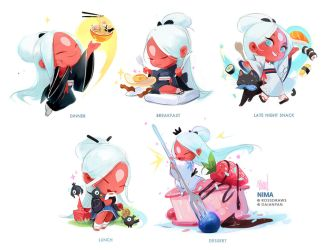 Mini Nimas! by rossdraws
