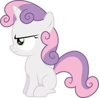 Sweetie Belle is not Amused by qazwsx302