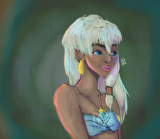 Kida from Atlantis by Jindeous