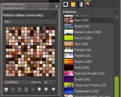 GIMP Skin Color Swatches by MAllenWest