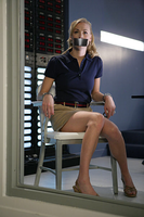 Yvonne Strahovski Handcuffed and Tape Gagged by Goldy0123