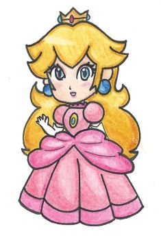 Chibi Peach by VioVi