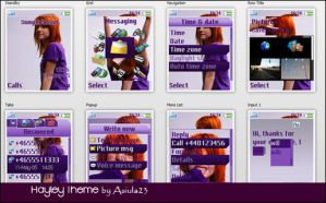 Hayley theme by asiula23