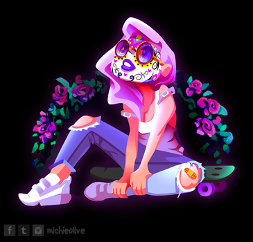 Drawlloween Number 1 by mi-chie