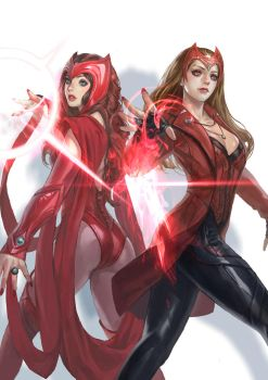 Scarlet Witchs by inshoo1