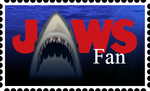 Jaws Fan Stamp by FantasyFlixArt