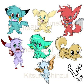 Little Monsters by KitsuneShinzui