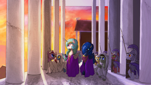 The divine Empresses by AaronMk