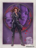 Black Widow by Jeffherndraw