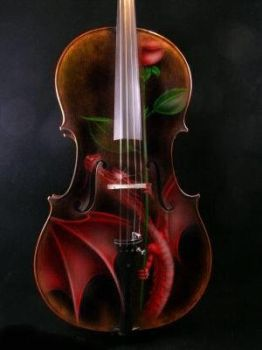 Deadly Beauty Cello by PulchraAnima