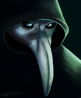 SCP 049 Portrait by GentlemanTurtle101
