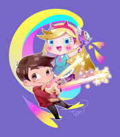 Star vs. the Forces of Evil by tonidayo