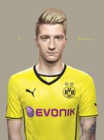 Marco Reus of BVB by MoulkandHaemin