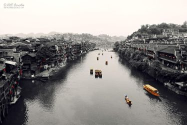 Tuojiang River by fancolas