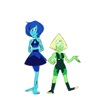 Next Gen Lapis and Peridot by Gaartes