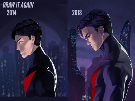 DRAW IT AGAIN 2014 v 2018 by kira-meku