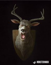 Evil Deer by juhoham