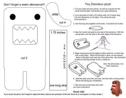 Domokun Plush tutorial by chronicdoodler