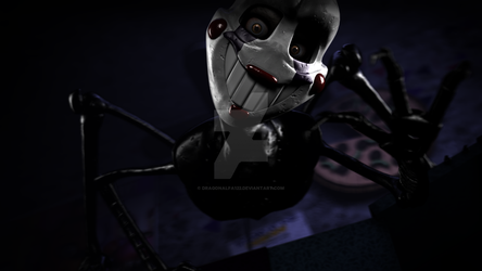 [SFM/FNaF] Stylised Puppet by Dragonalfa122