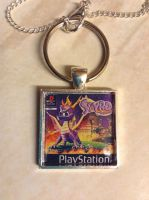 Spyro The Dragon Key Ring Necklace Thing by DazzyADeviant