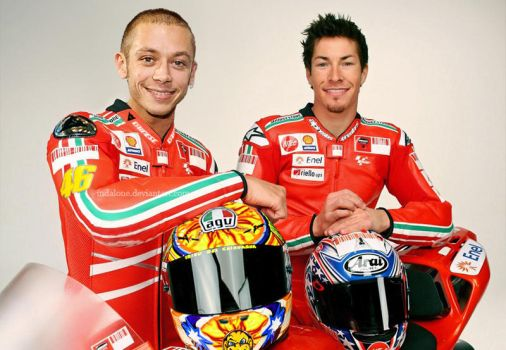 rossi's racing suit 2011 by indaLone