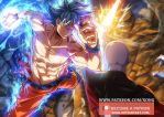 Goku VS Jiren by xong