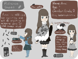Amai Refrence Sheet by lonely-hetaro