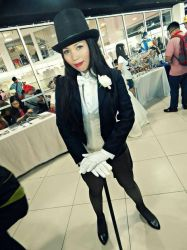 Zatanna Cosplay by bunnybearme