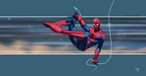 the Amazing Spider-man by yinfaowei