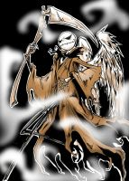 Jack as Angel of Death by favius
