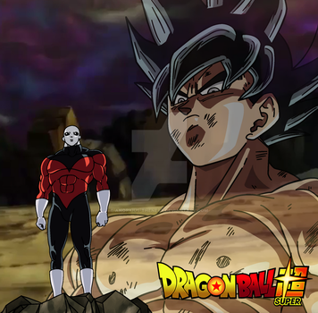 I must defeat you - Goku vs Jiren (My Palette) by Anorkius-TheNERX